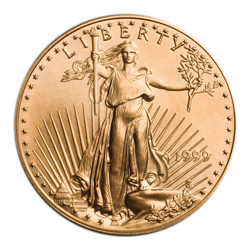 1-oz Gold American Eagle