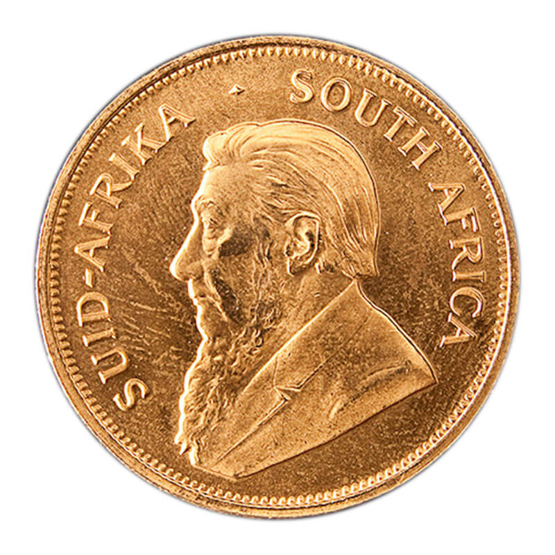 1-oz gold South African Krugerrand
