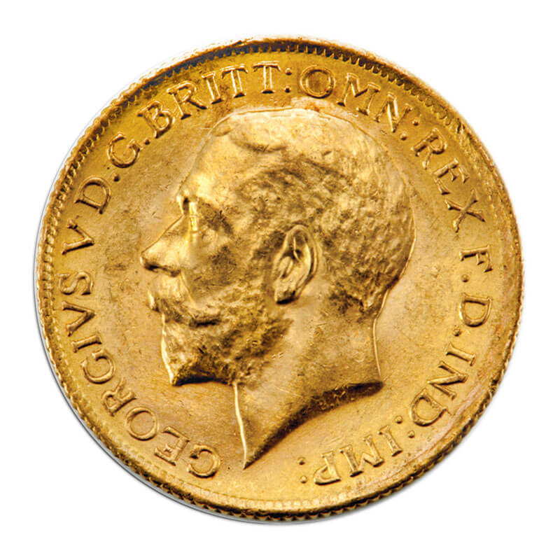 MS60 British Sovereigns