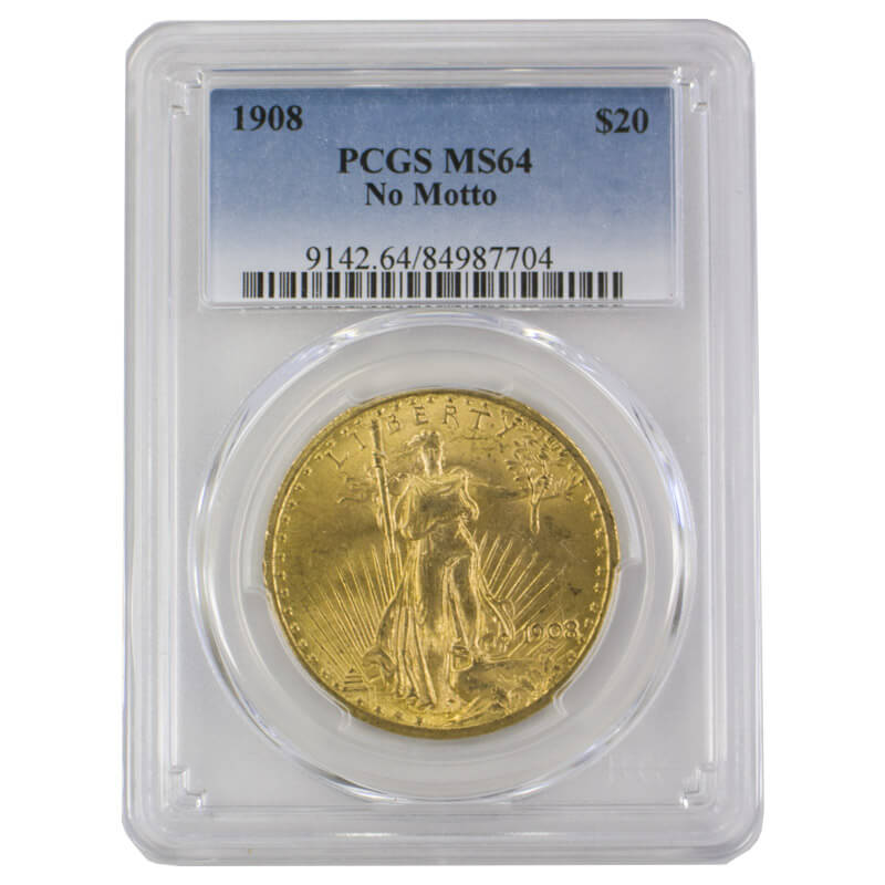 $20 Saint-Gaudens Gold Double Eagle MS Series