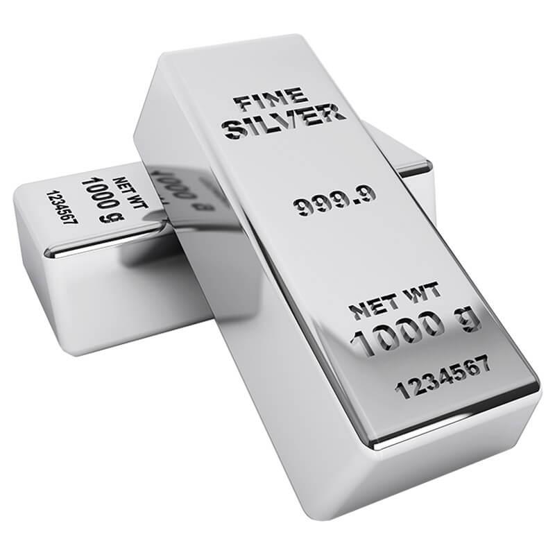 1000-oz Silver Bar