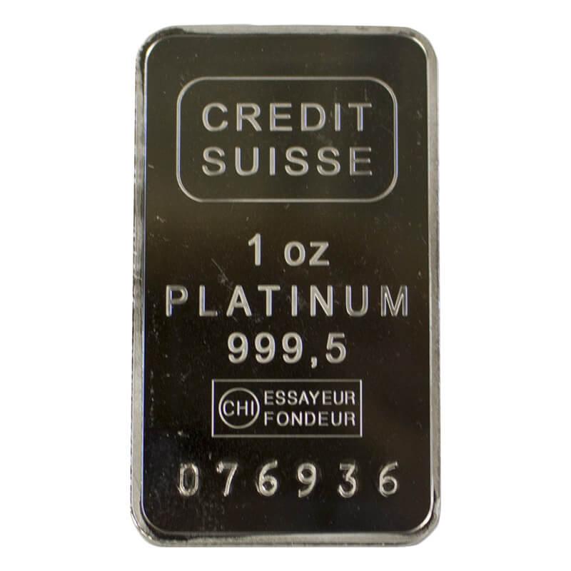 1-oz Platinum Bar